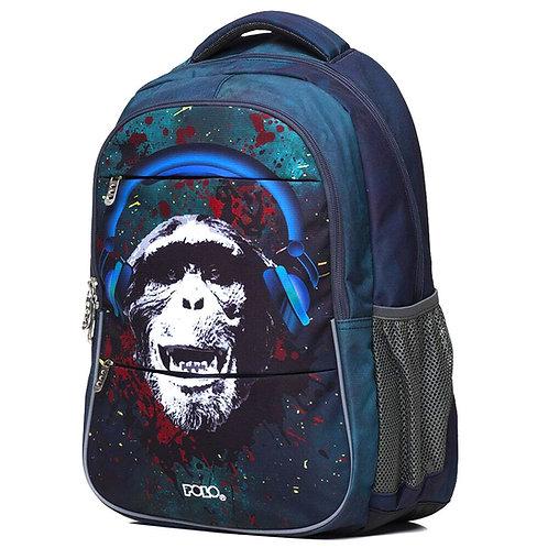 Τσάντα σχολική Polo Phantom