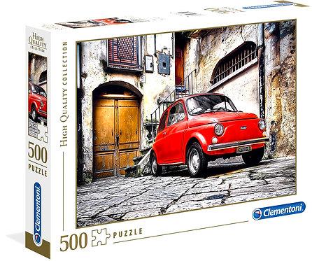 Παζλ Clementoni 500 H.Q. Fiat 500 τεμάχια