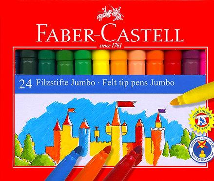 Μαρκαδόροι faber-castell 24 χρώματα