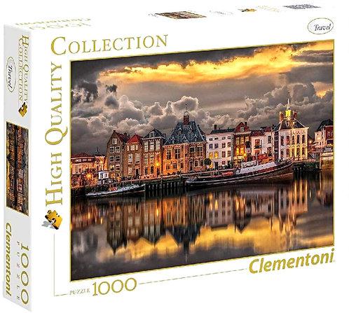 Puzzle 69x50 cm Ο κόσμος της Ολλανδίας  1000 κομμάτια