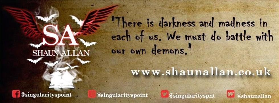 Shaun Allan - Author Banner
