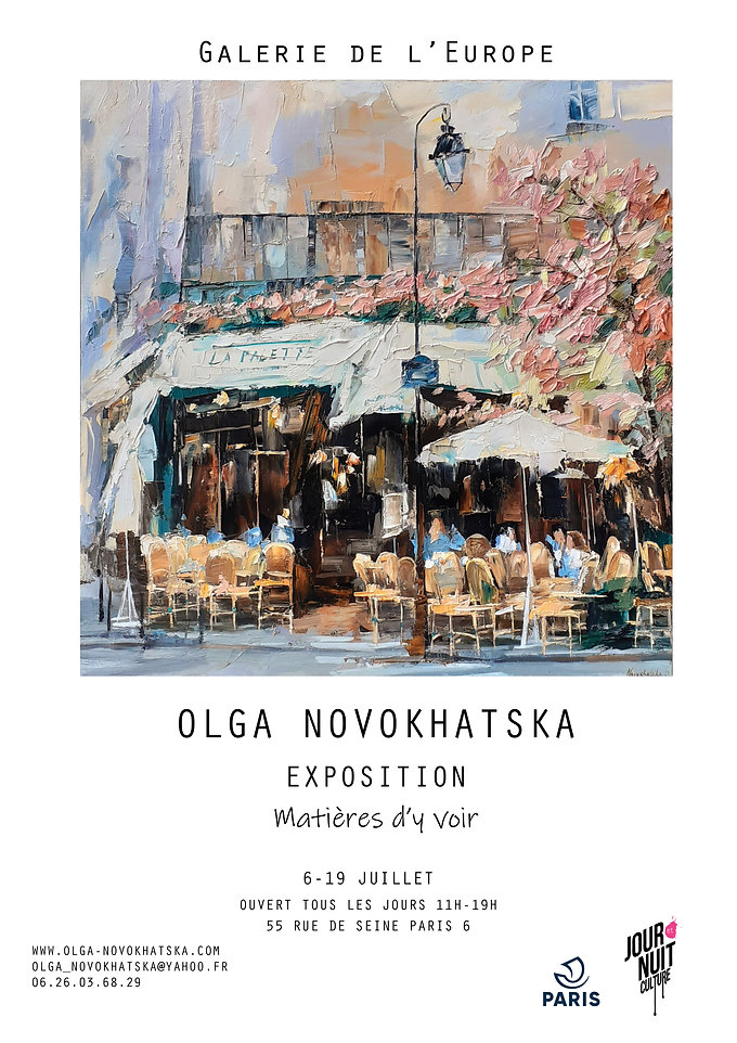 Affiche Europe Olga juillet 2020  blanch