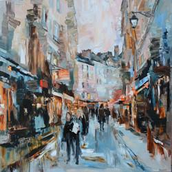 Rue de la Harpe III 100x100 cm