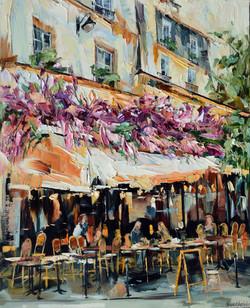 Café de Paris, 81x65 cm
