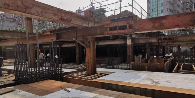 B1FL 樑板模組立