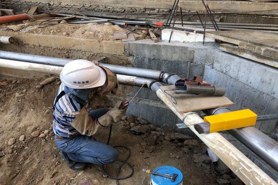五大管線自來水溫泉水幹管配管