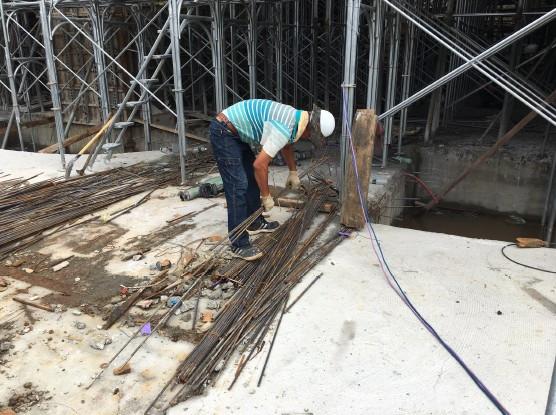 1F 工區鋼筋材料分類整理