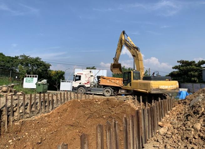 會館土方開挖