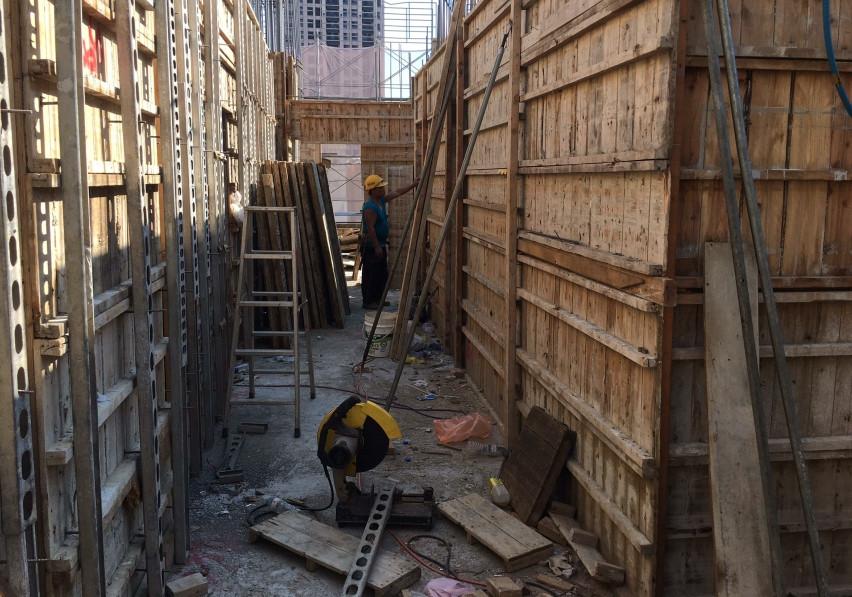 4樓模板組立作業