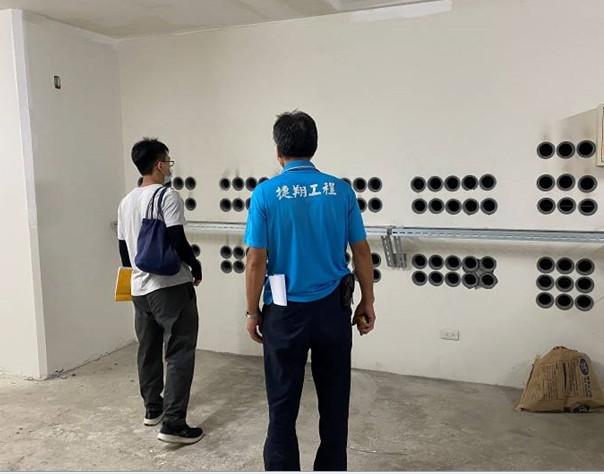 B1F台電受電室安檢作業