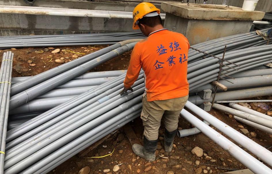 五大管線弱電幹管配管