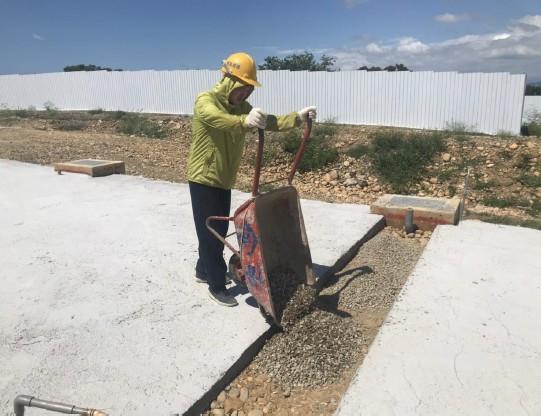 道路截水溝保護施作