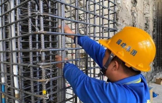B3F 柱牆水電管路配置(排水管延伸)