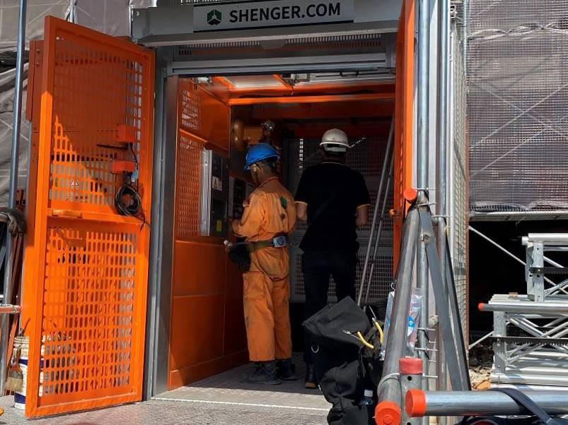 工區施工電梯第三方公正單位查驗