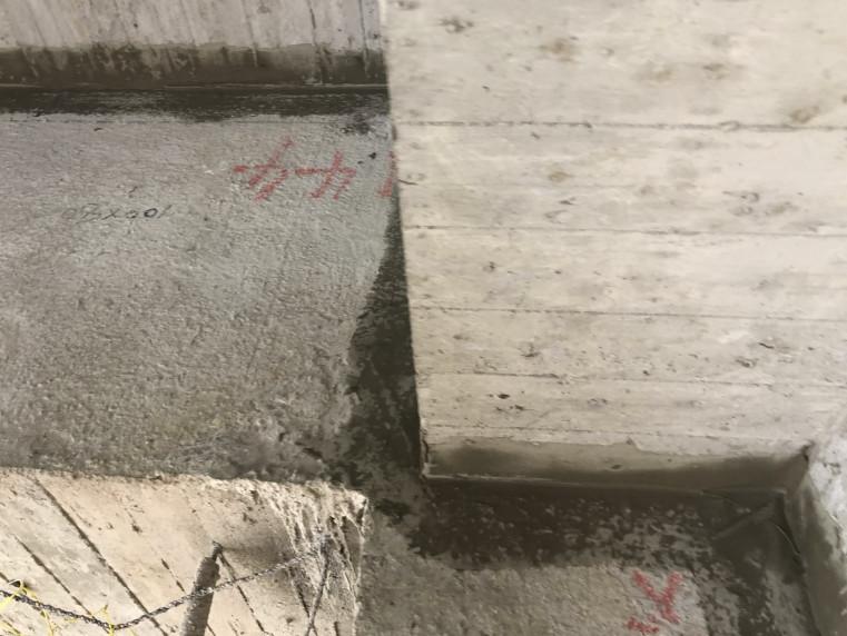 B 棟 9-10FL 外牆防水施作