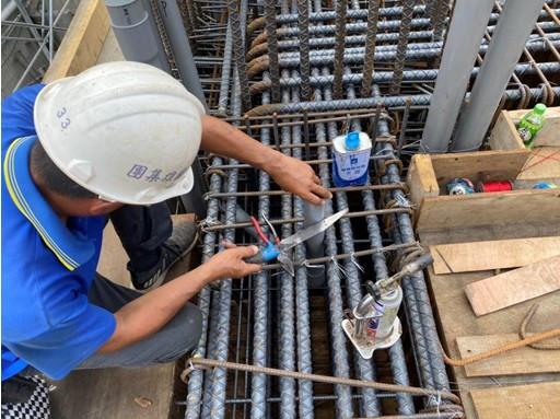 1MF底板水電配管(排水管路配置)