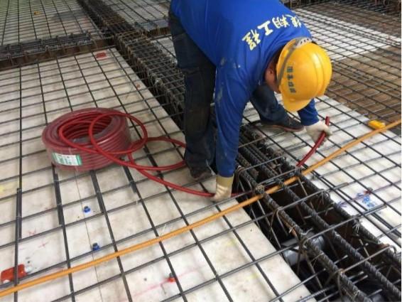 B3F 底板水電管路配置
