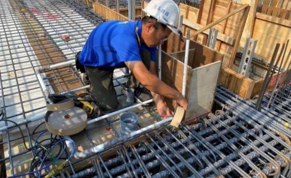 1F 底板水電管路配置(給水管配置)