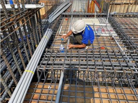 1F 底板水電管路配置(滴灌管路配置)