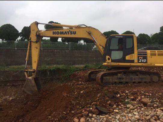 基礎開挖 (D 區 D1~5)