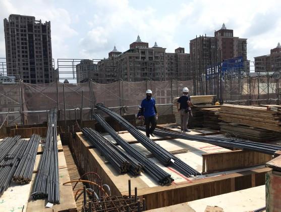 3 FL 樑、鋼筋吊料作業