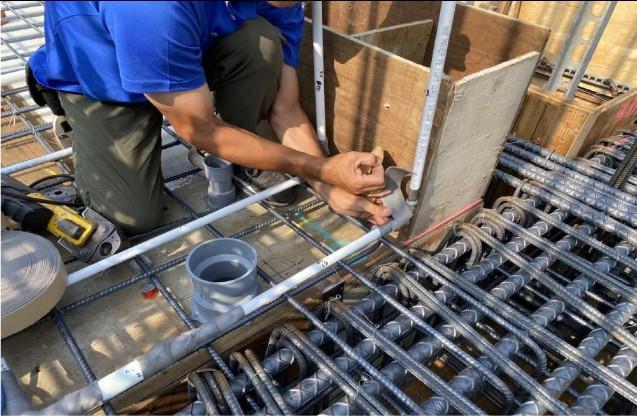 給水 ST 管被護 3 重壓接零件保溫