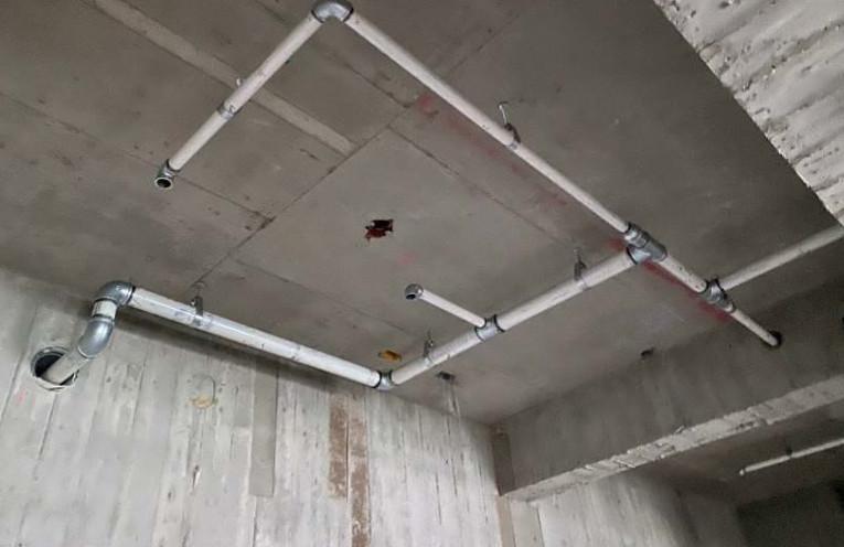 B 棟 5F 室內消防管路配置