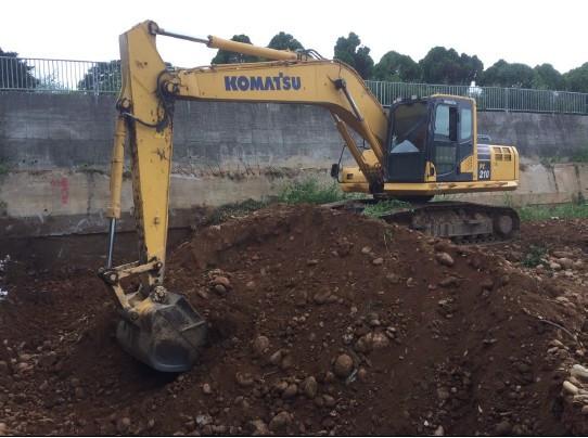 基礎開挖 (D 區 D15~18