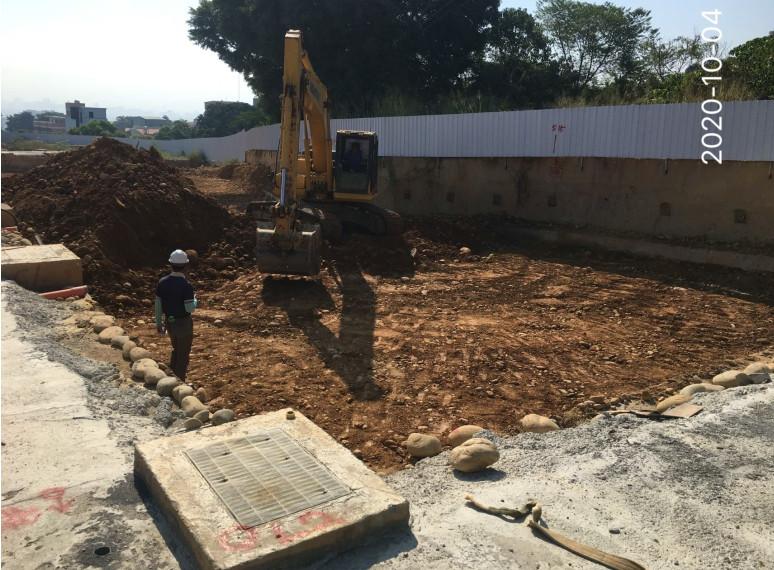 C1-C5開挖整地