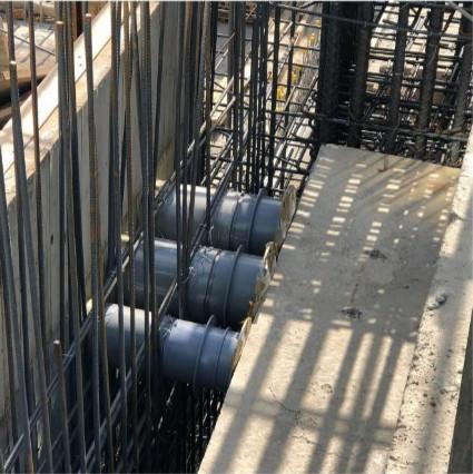 外管線引進管套管施作(污水)