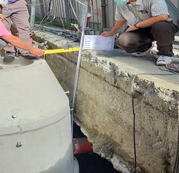 污水技師現勘及拍照