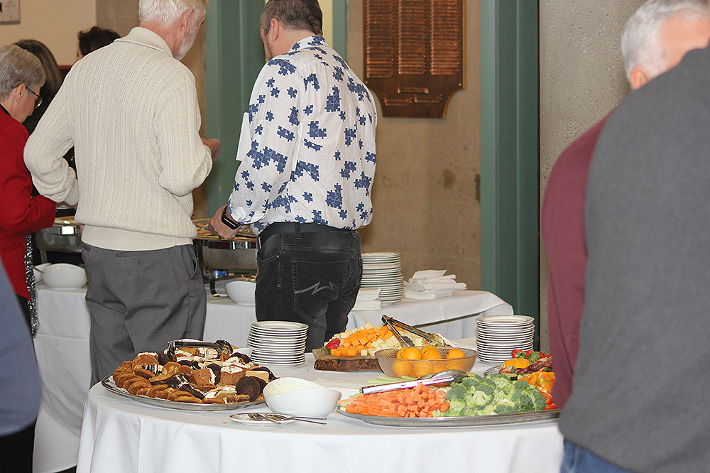 Rotary Dec21 buffet