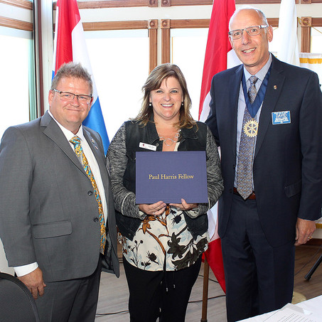 Barrie's Community Leaders Recognized with Paul Harris Awards