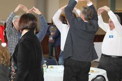 Rotary Dec21 Members singing