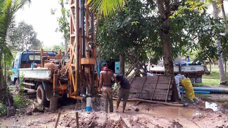 Cambodian Well Well Underway