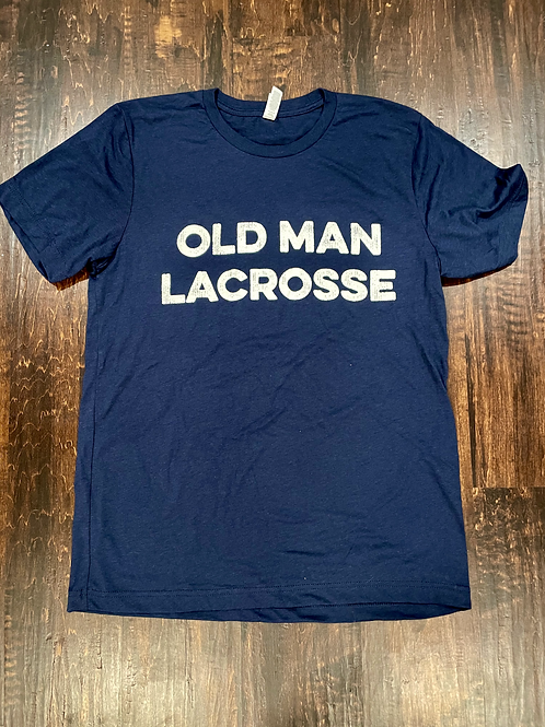 Old Man Lacrosse T-Shirt