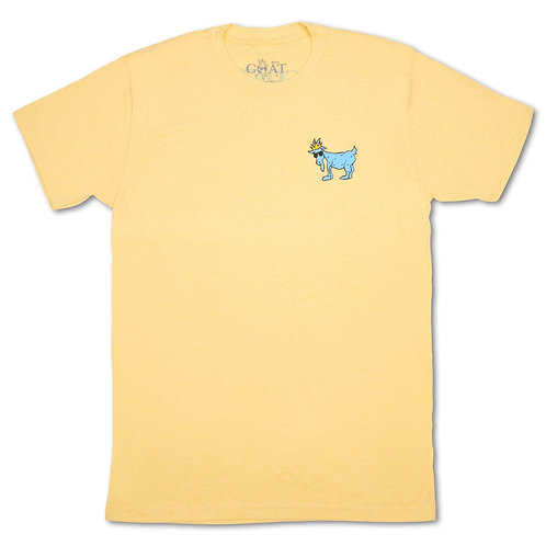 GOAT OG Yellow T-Shirt