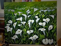Lilies by Linda Emms