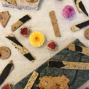 crackers maïs nori sésame