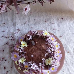 mon gâteau goût printemps