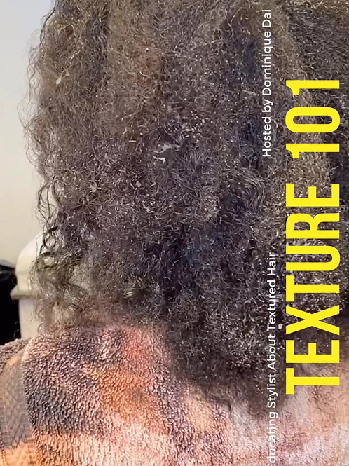 Texture 101 - Stylist Education