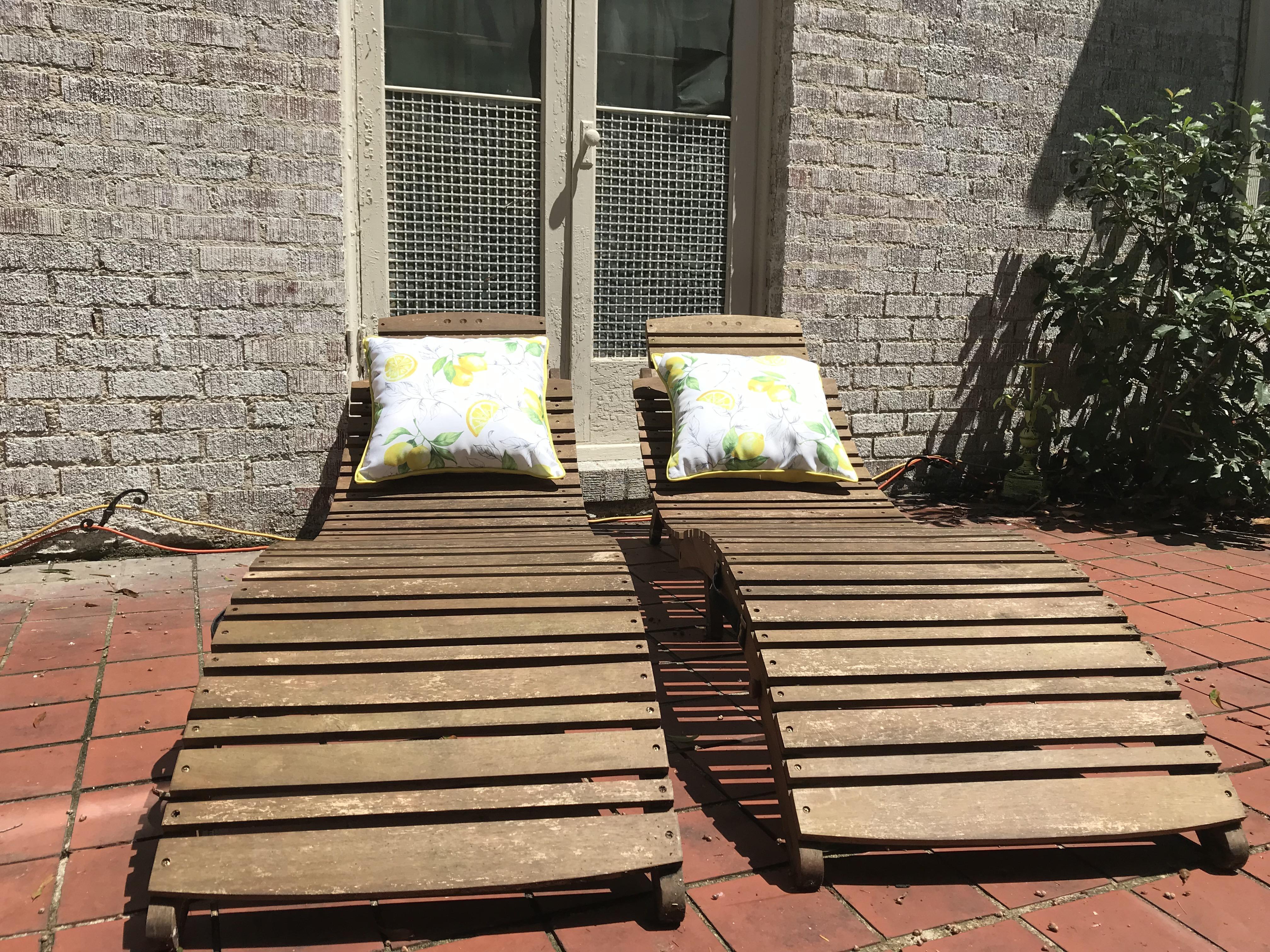 Courtyard Sunning