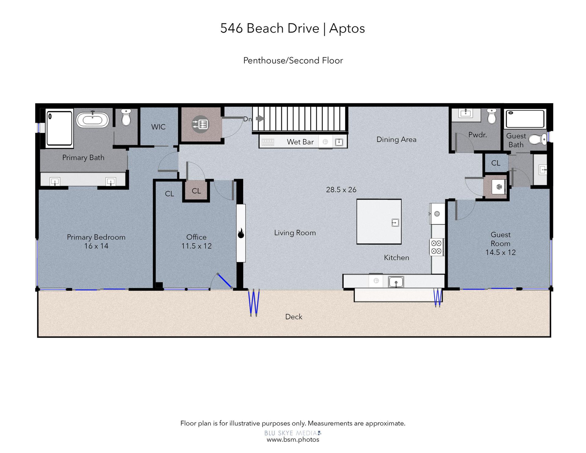 2nd Floor Penthouse