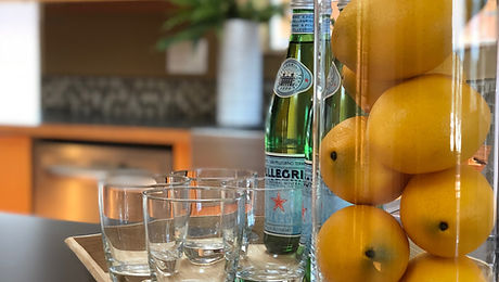 Home Staging Lemons and Water