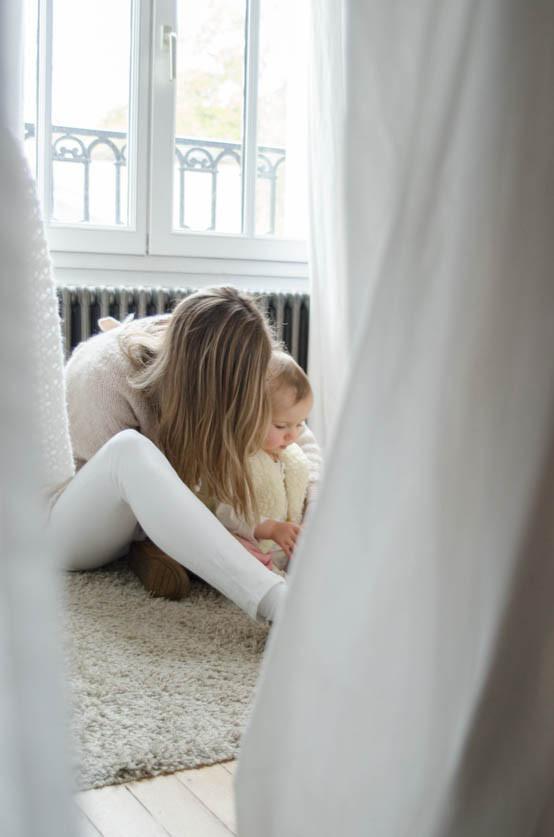 Reportage photos en famille à la maison