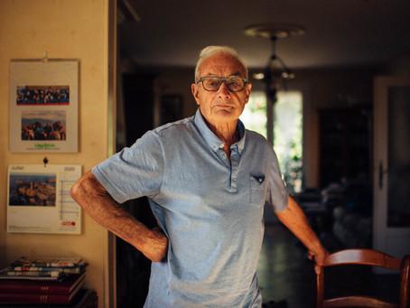 La série photos Saint-Julien, le portrait de Michel Hunault