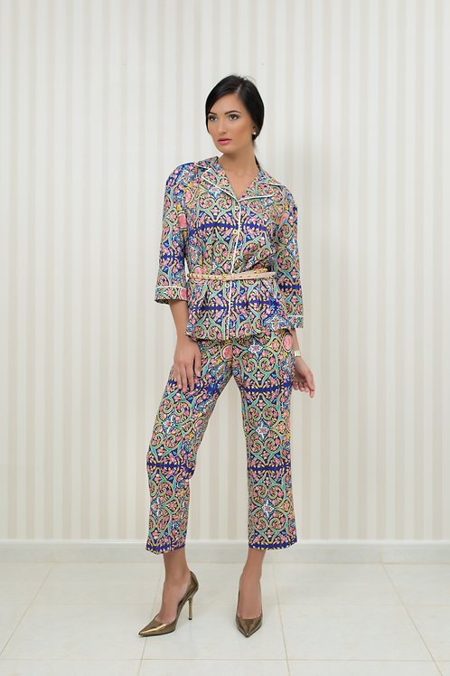 Pyjama style Shirt  and Trousers