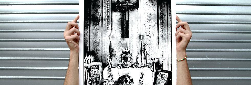 Silkscreen Altar S01E01