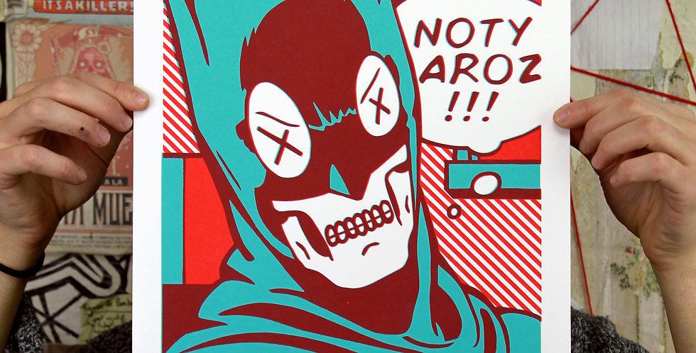 Sérigraphie Tribute to Lichtenstein