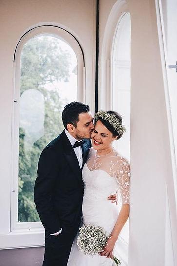 nienke | bijtje bruid in custom trouwjurk.